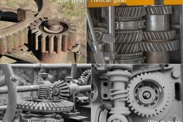 Differences between spur gear and helical gear