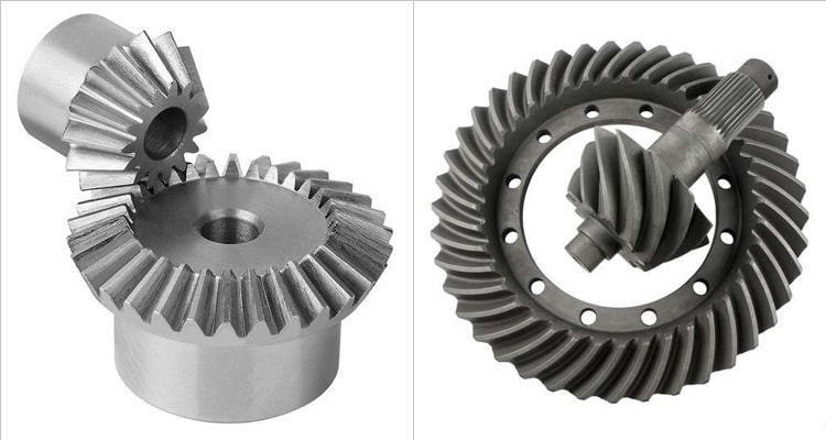 Difference Between Straight Bevel Gear and Spiral Bevel Gear